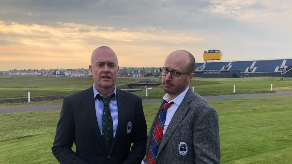 Men in Blazers at The Open on NBCSN