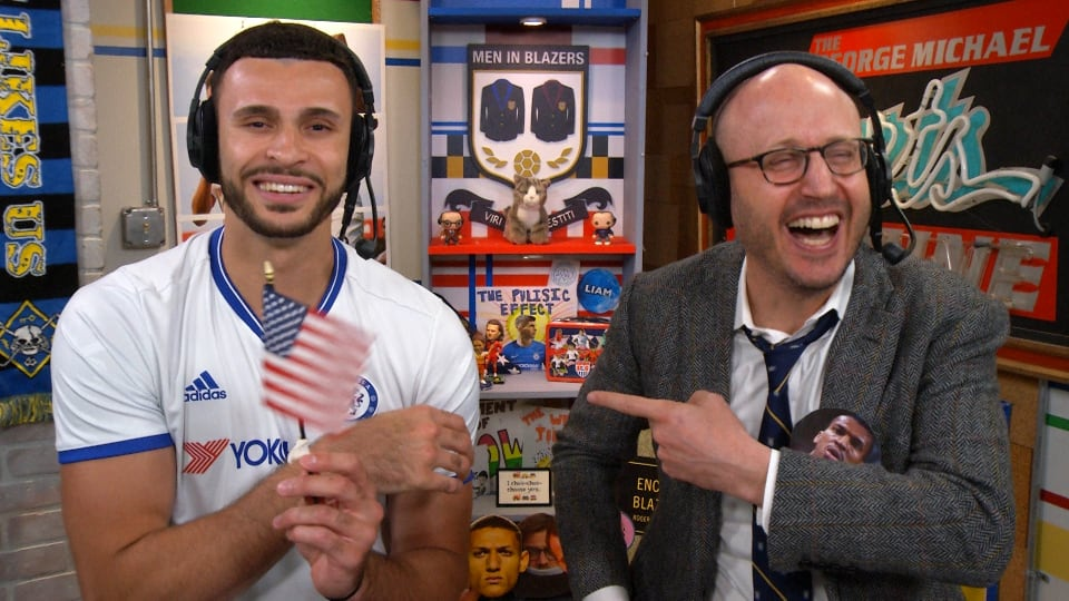 The Men in Blazers Show with Larry Nance Jr.