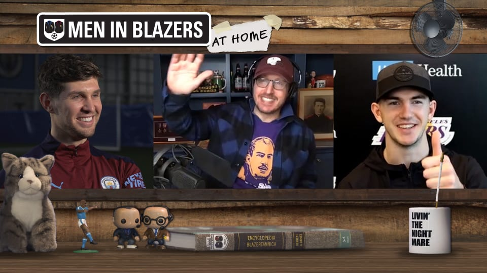 The Men in Blazers Show with John Stones and Alex Caruso