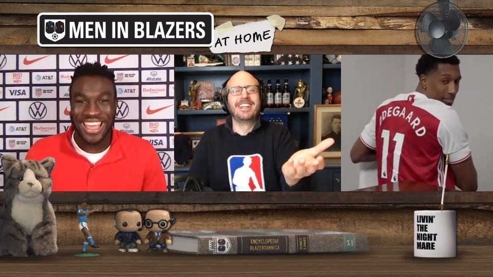 The Men in Blazers Show with Daryl Dike and Josh Richardson
