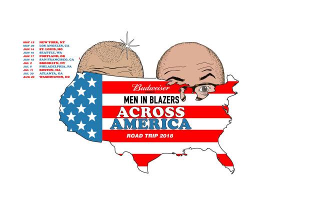 Men in Blazers Across America: Road Trip 2018