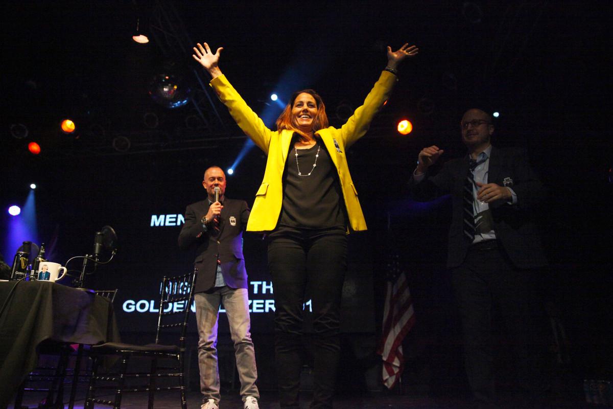2015 Golden Blazer Presentation