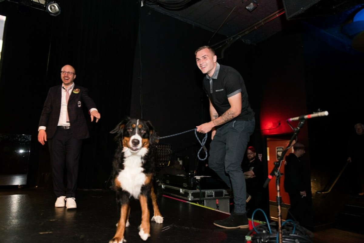 Reigning MLS Rookie of the year, Jordan Morris and his dog, Minnie