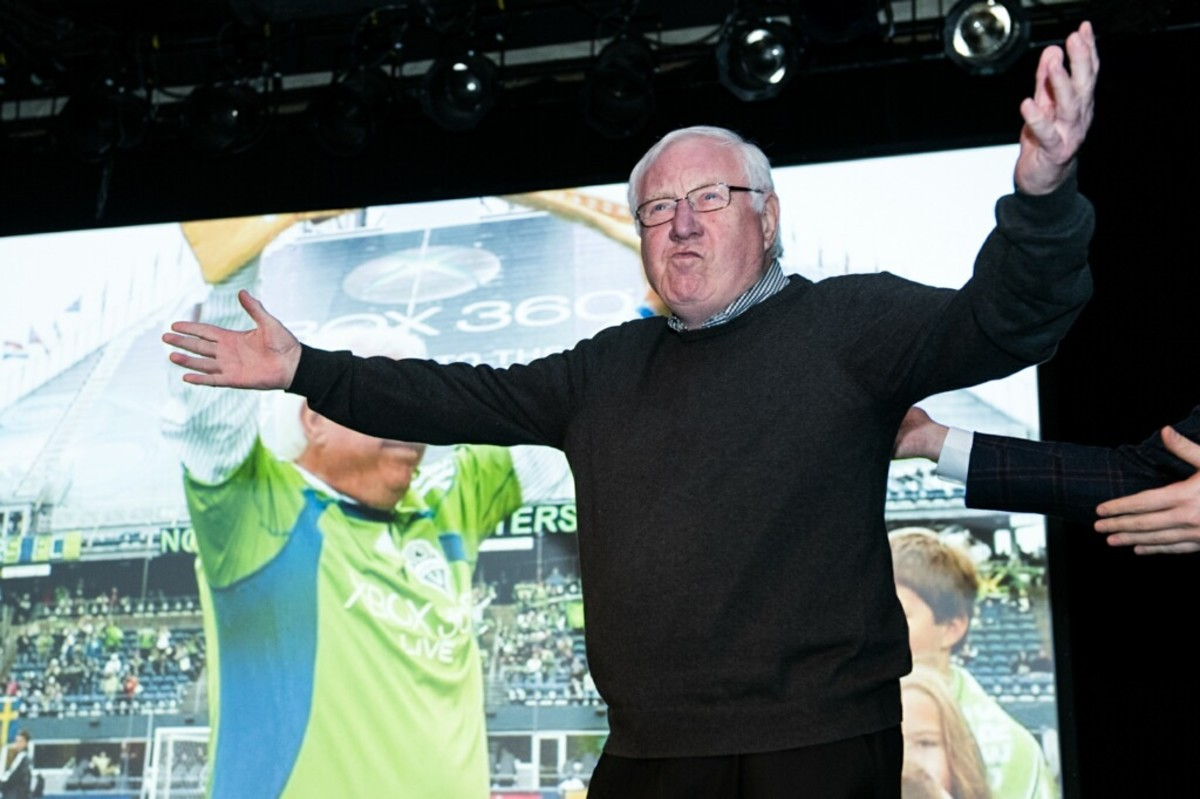 Seattle football legend Alan Hinton