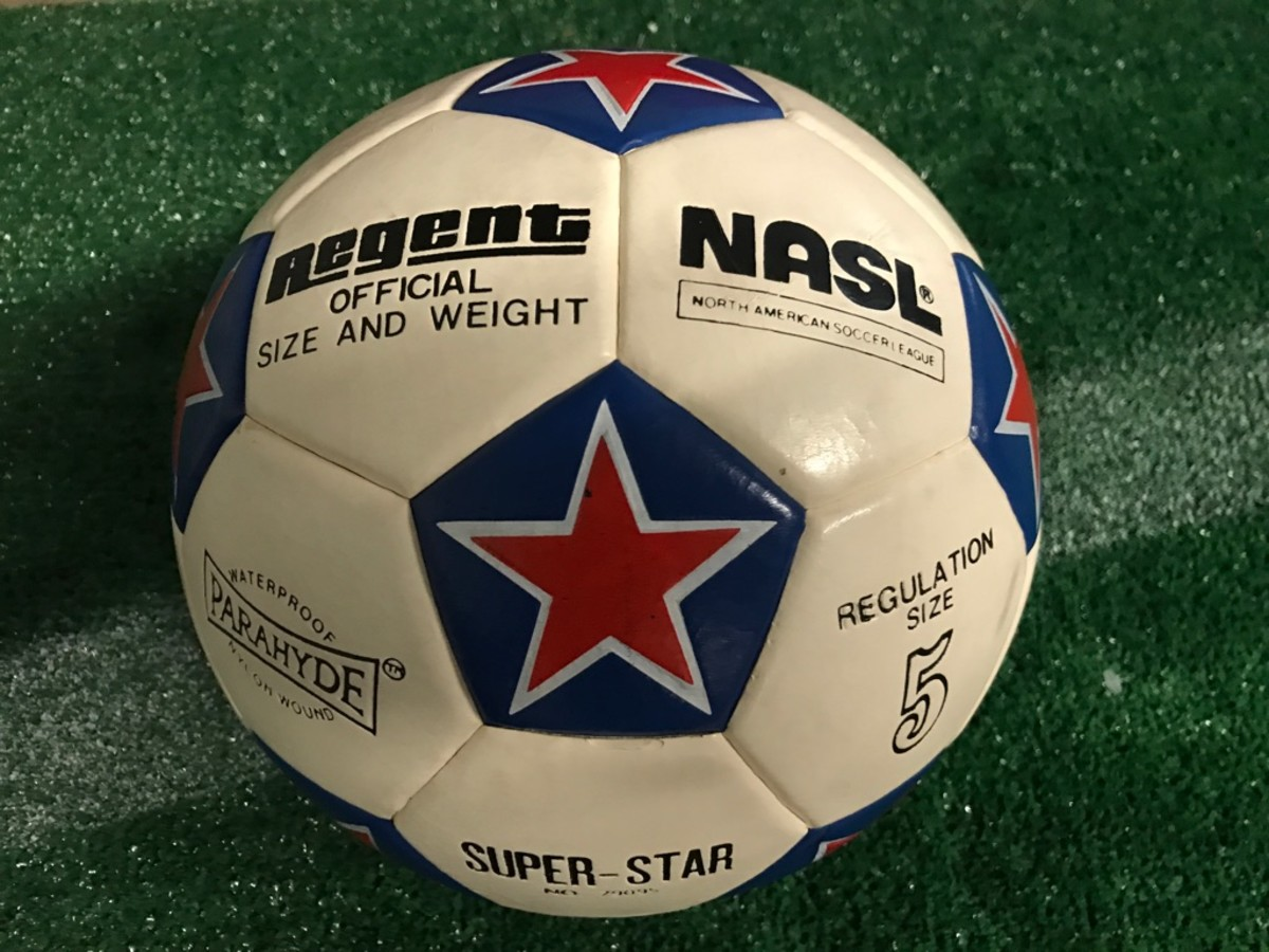 An official NASL ball signed by the New York Cosmos roster, circa 1985, provided by Concord United