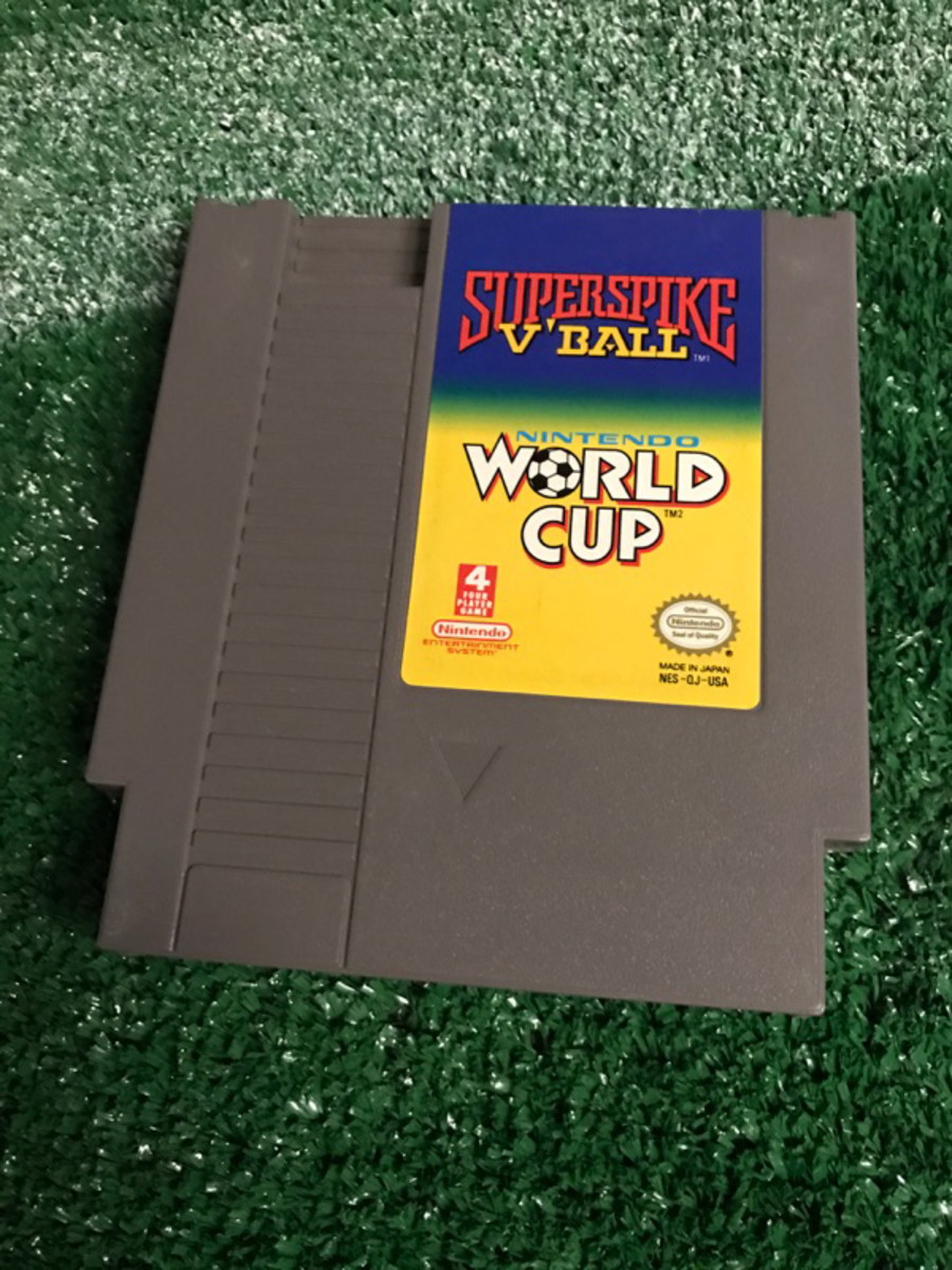 The Nintendo World Cup game circa 1990, provided by GFOP John Gonsalves