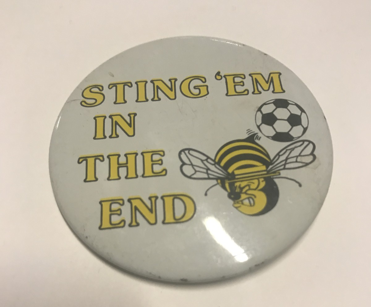 Chicago Sting badge, provided by GFOP Dennis Dahl