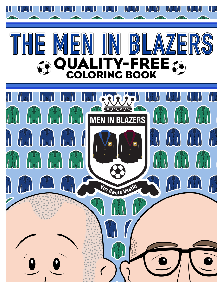 Men In Blazers Coloring Book Men In Blazers