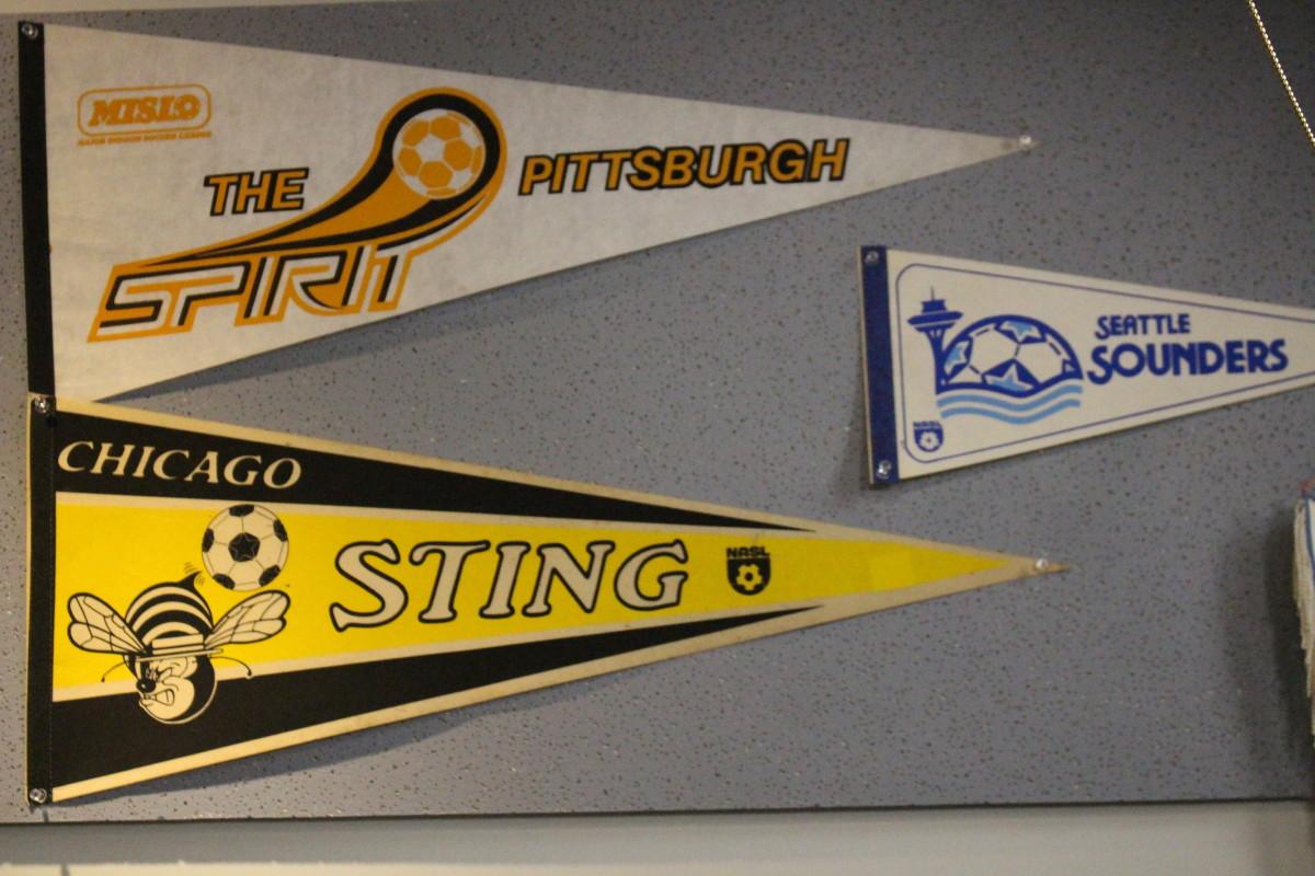 NASL pennants donated by various GFOPs